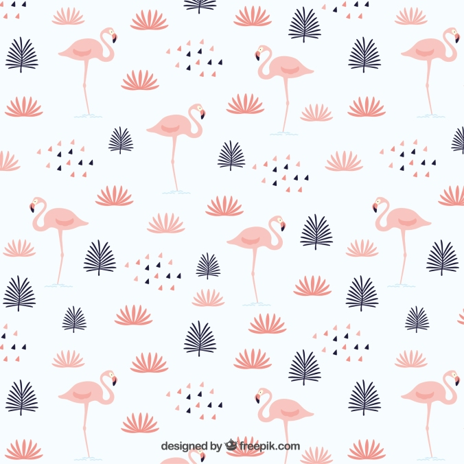 http://www.freepik.com/free-vector/leaves-with-flamingos-pattern_889323.htm#term=free%20summer%20patterns&page=1&position=3