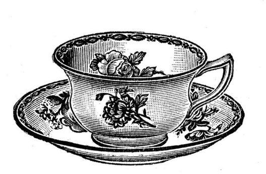 dessins-imprimer-style-shabby-tasse-thé-roses